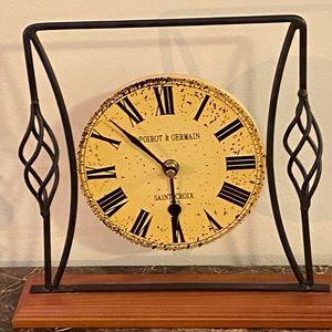 Poirot & Germain Saint Croix Paris Clock